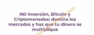 Descargar el curso ND Inversión, Bitcoin y Criptomonedas