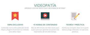 Qué aprenderás en Videopatía