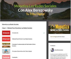 Ventajas del curso monetiza las redes sociales