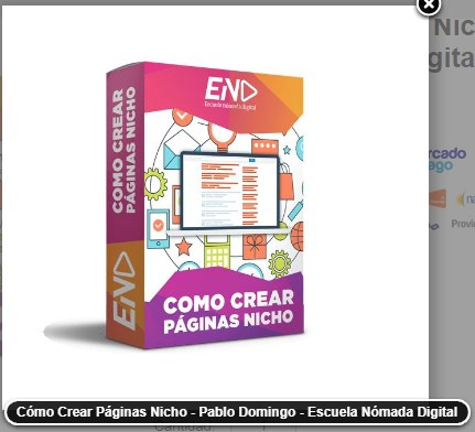Como Crear páginas nichos - Escuela Nómada digital
