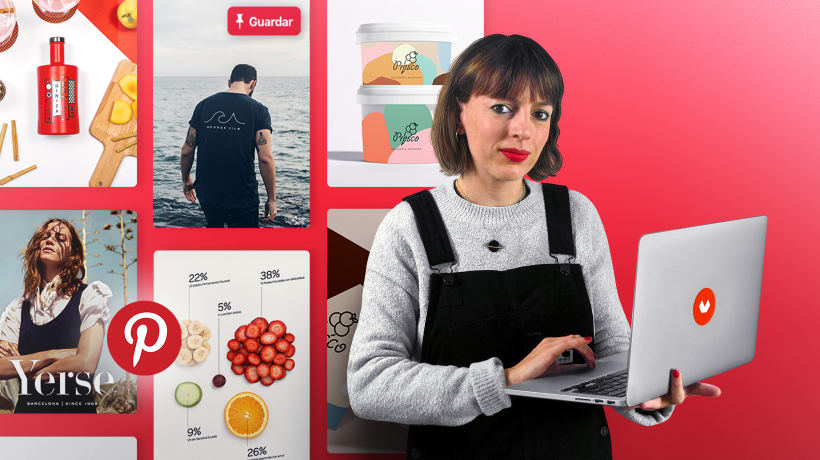CursoPinterest Business como herramienta de marketing –Domestika