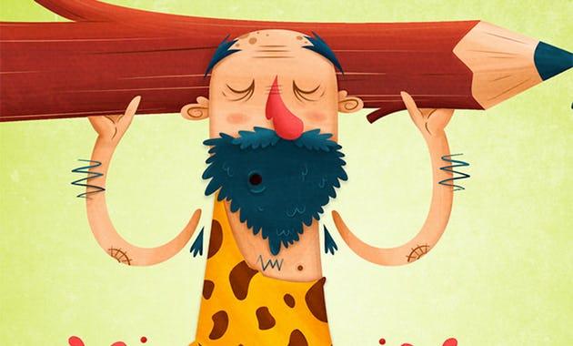 Curso diseña un personaje con Photoshop e ilustrator