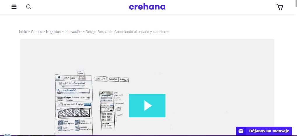 Design Research conociendo al usuario y su entorno – Crehana
