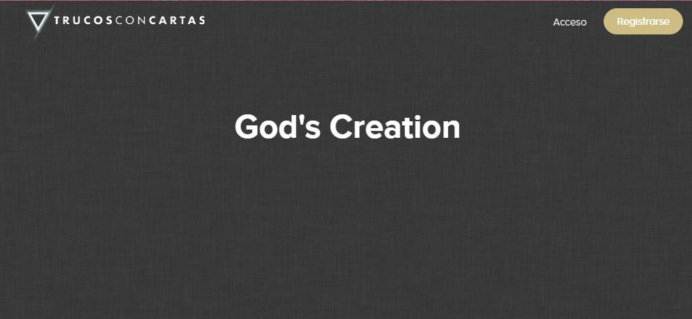 Gods Creations - Miquel Román