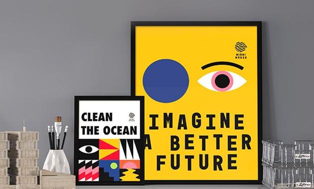 Posters animados para marcas