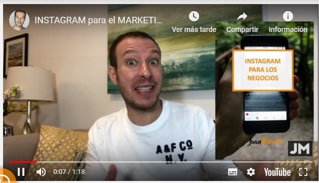 Curso Práctico de Instagram para los Negocios – Juan Merodio