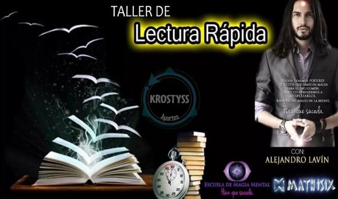 Curso de Lectura rápida y fotolectura – Alejandro Lavin