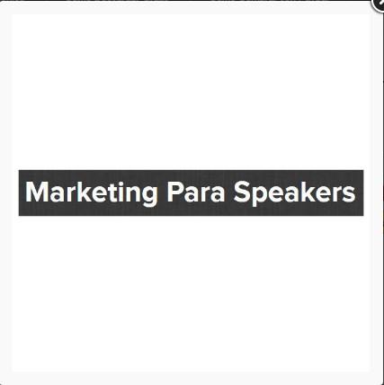 Marketing para Speakers – Nacho Muñoz