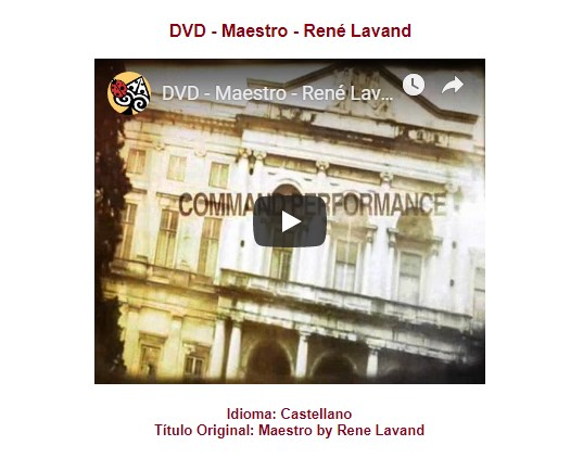 Maestro – Rene Lavand