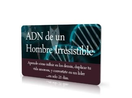 ADN de un hombre irresistible