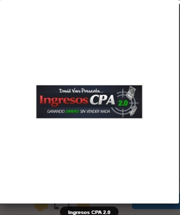 Ingresos CPA 2.0