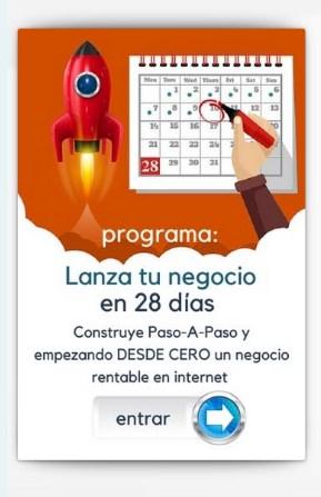 Lanza tu negocio en 28 días – Carlos Cerezo