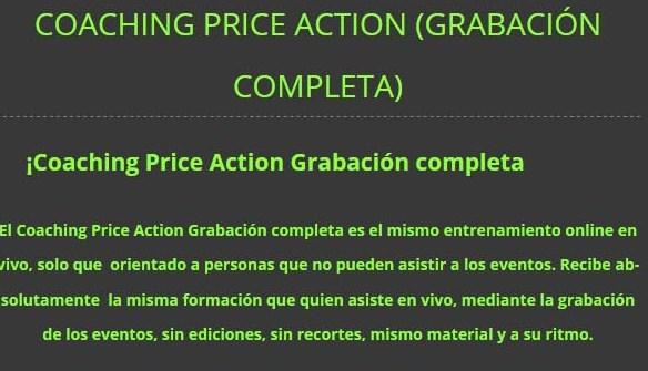 Coaching Price Action