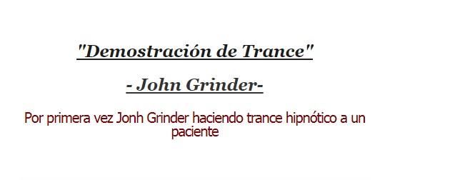 Demostración de Trance – Jhon Grinder