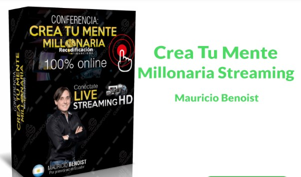 Crea tu mente millonaria – Mauricio Benoist