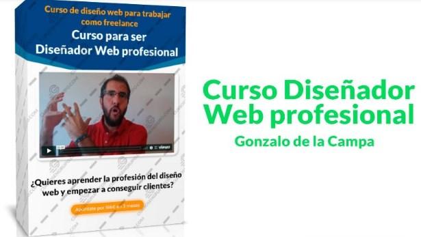 Curso Diseñador Web Profesional – Gonzalo de la Campa