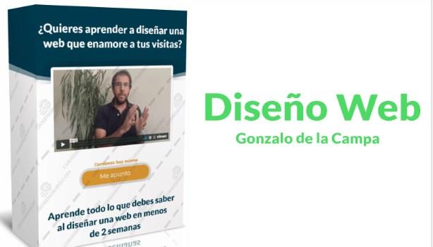 Diseño Web – Gonzalo de la Campa