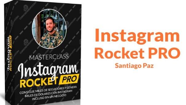 Instagram rocket PRO – Santiago Paz