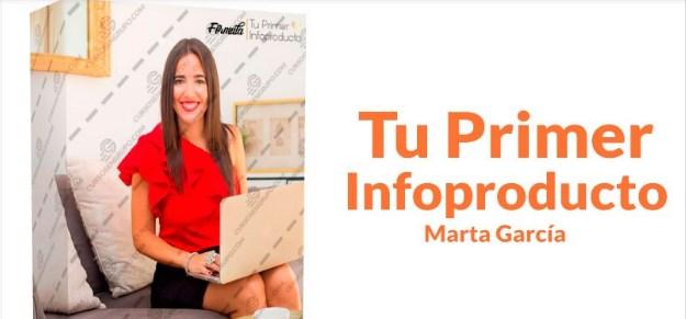 Tu primer Infoproducto – Marta García